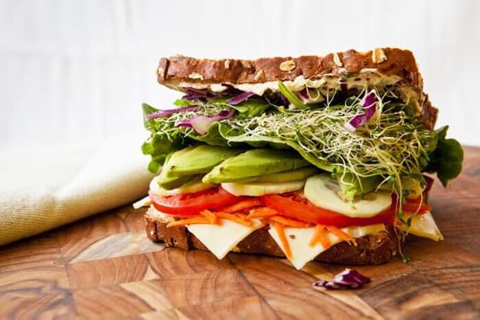 Sandwich or wrap image