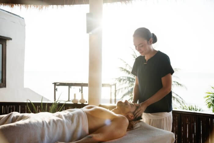 Massage and wellness for stress reduction